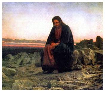 jesus-desert