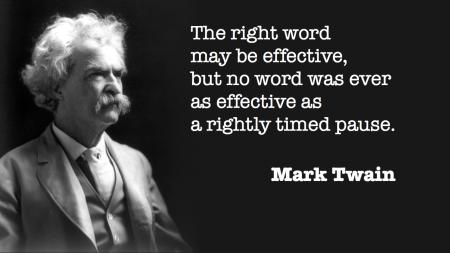 Twain - pause